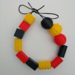 textured beads - necklace (small)